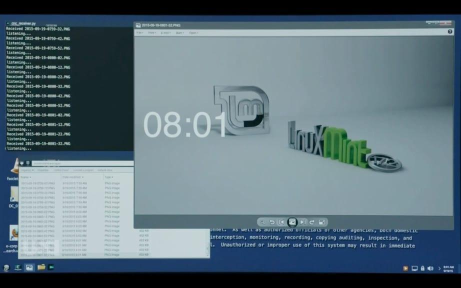 Mr Robot Backdoor Linux Mint